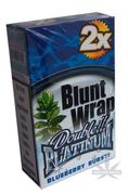 Platinum Wrap Blunt Blueberry Burst Blue 2tk